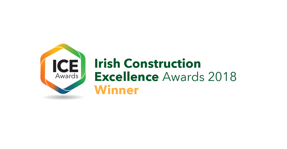 Alanna Homes Scoops up the Innovation Award at the Irish Construction Excellence (ICE) Awards 2018.
