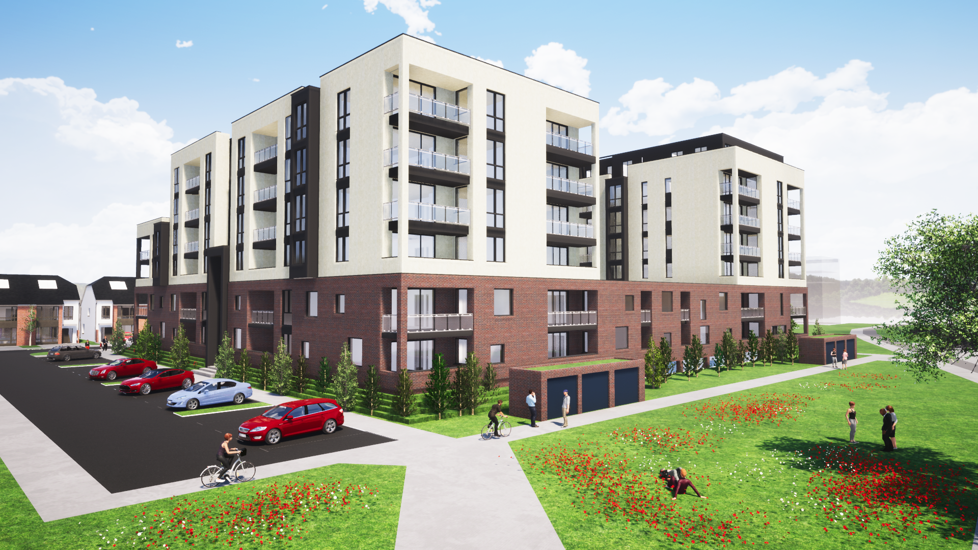 95 Apartments Marks the Start of Hansfield Station Quarters