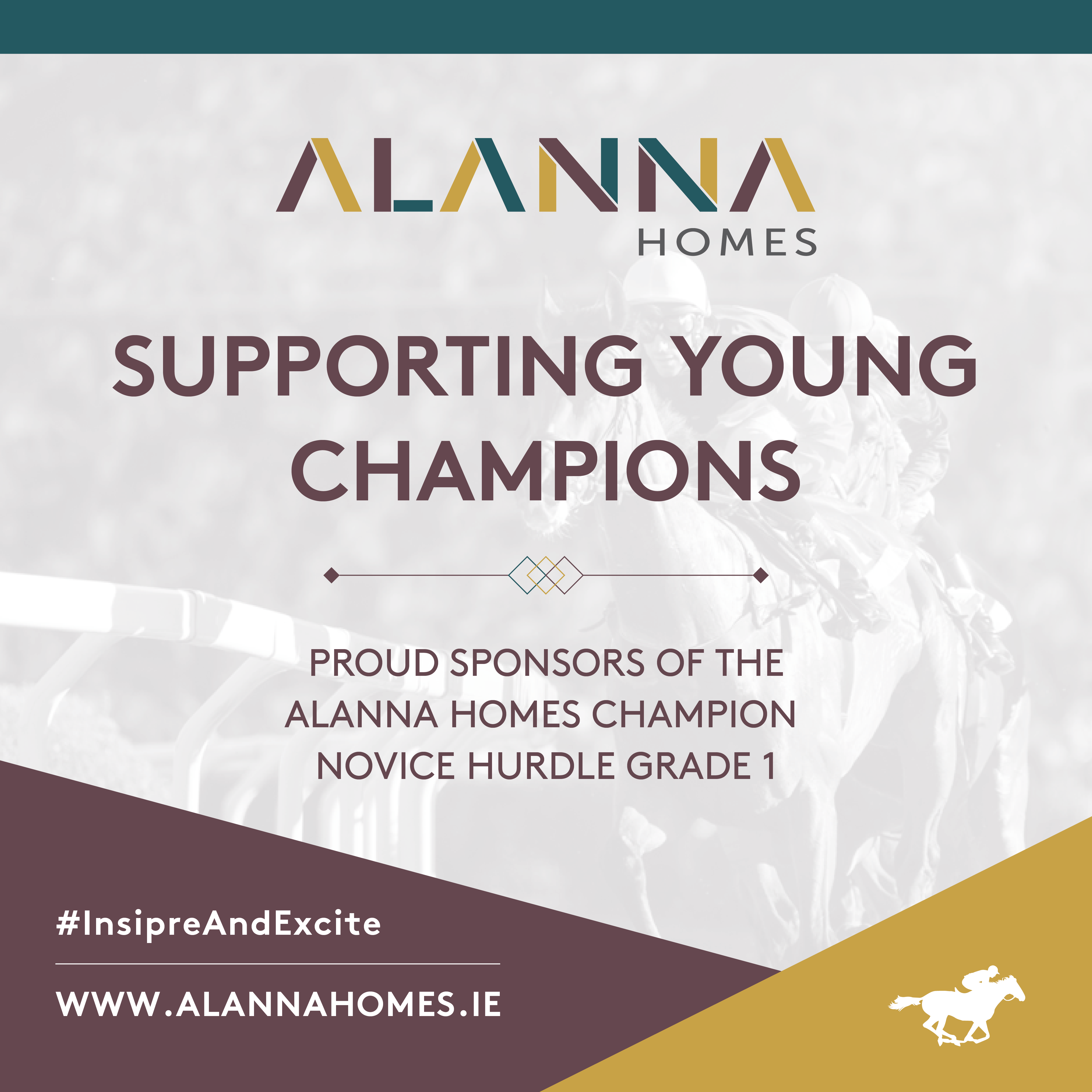 Alanna Homes to Sponsor Grade1 Champion Novice Hurdle at The Punchestown Festival